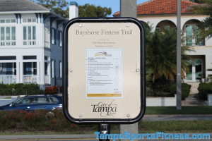 Inclined Crunch Bench Exercise Equipment Sign