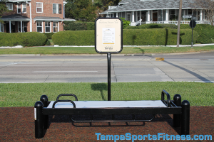 Situp / Pushup Bench Exercise Equipment