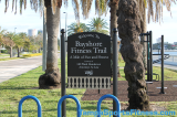 Bayshore Fitness Trail Welcome Sign